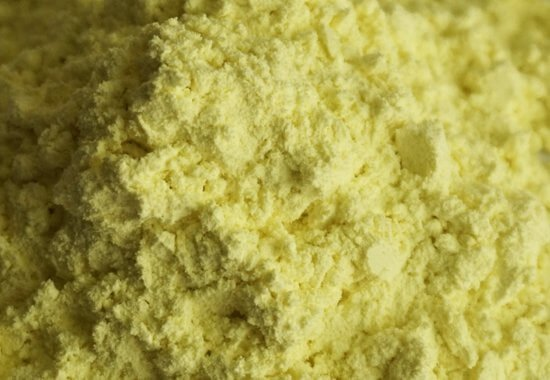 Insoluble sulfur